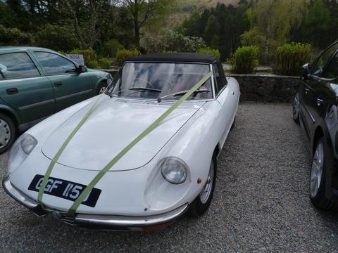 Alfachick's car