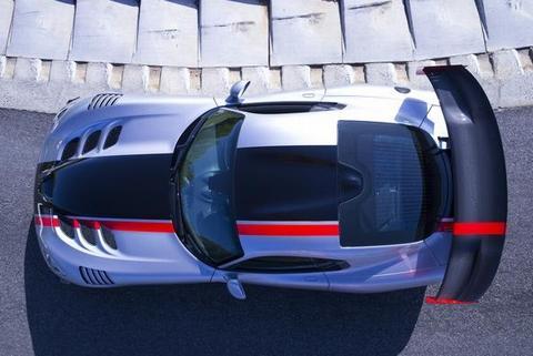 Viper's car