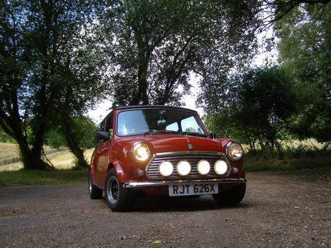 the mini mole's car