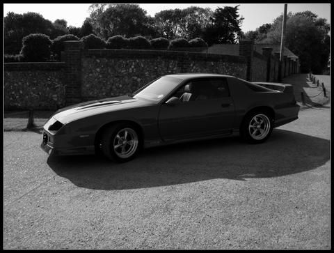 IROC-Z's car