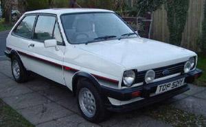 Baz Tench's car