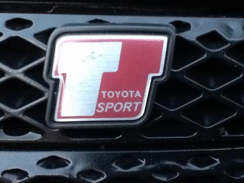 Justaredbadge's car