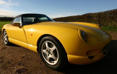 BrightYellowTVR's car