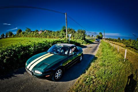 Salgar's car