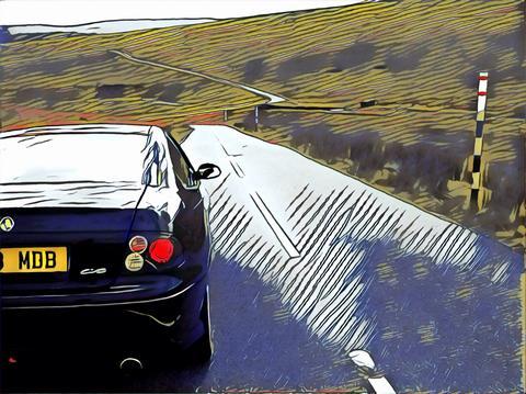 V88Dicky's car