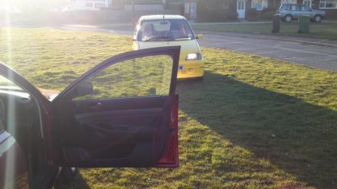Liquid Knight's car