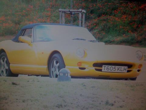 UK Chim's car