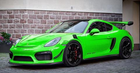 Porsche911R's car