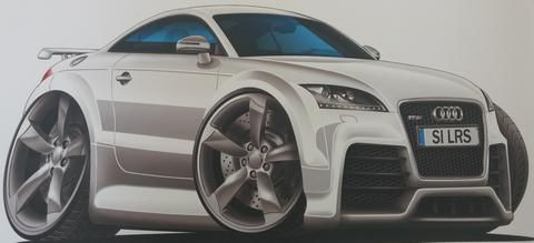 Hoonmeister's car