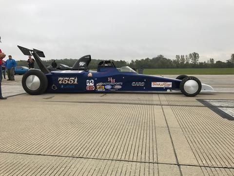 Geoff Stilwell's car