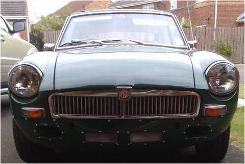 Mactheknife's car