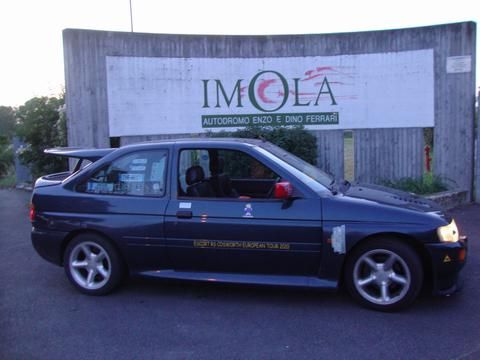 Iva Barchetta's car