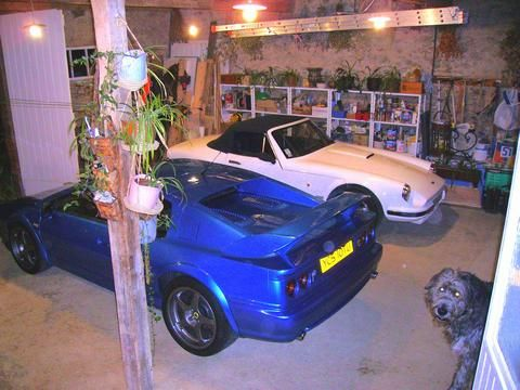 Le TVR's car