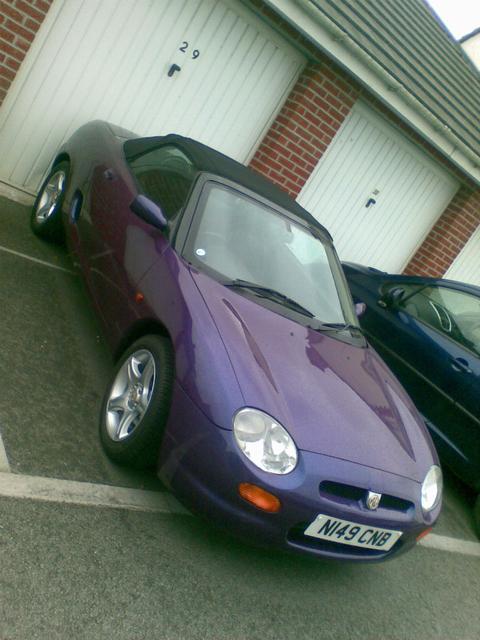 MGF_Wanty's car