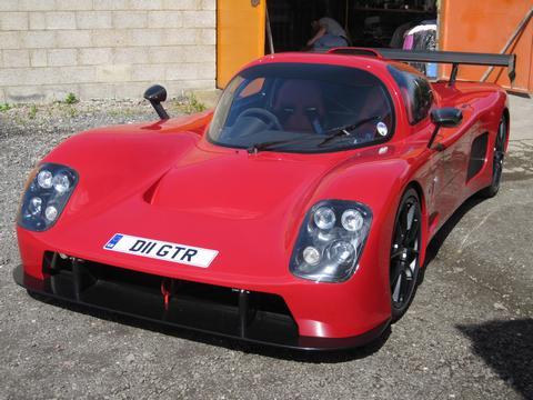 DHGTR's car