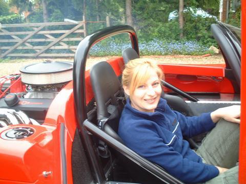 Hornie's car