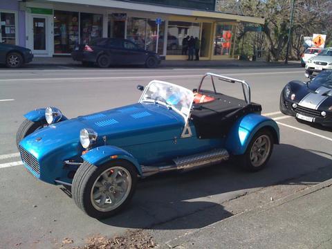 Fraster's car