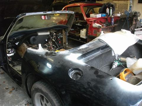 TMRnoV's car
