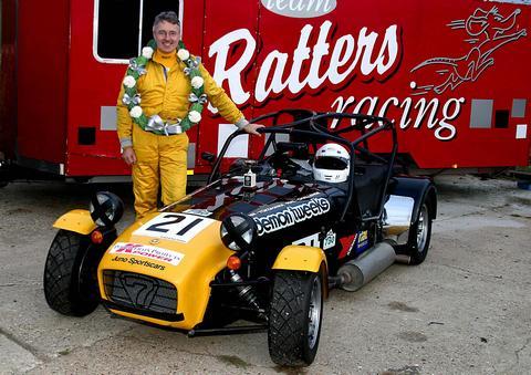 Peter Ratcliff's car