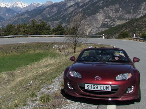 Raffles's car