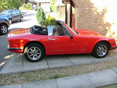 Mr Clifford's car