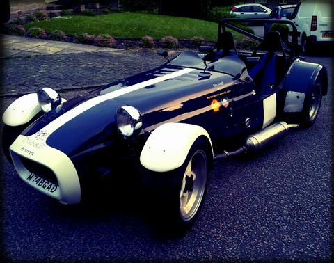 Glade's car