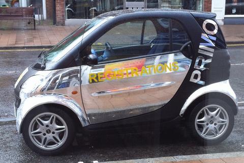 MrReg's car