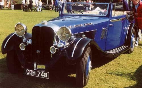 Nick Brough's car