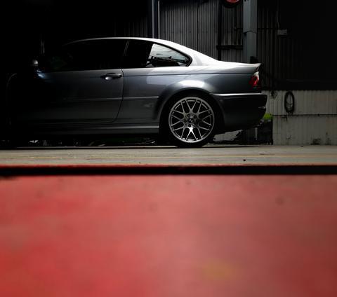 B.J.W's car