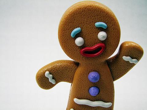 Gingerbread Man's car