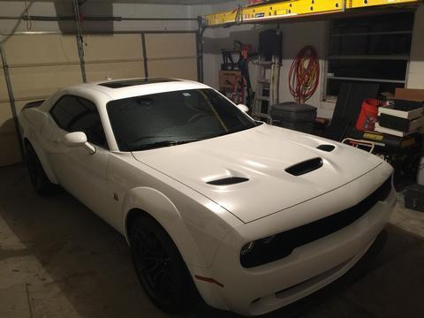 Matt Harper's car