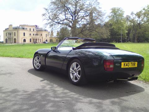 used 1994 tvr griffith for sale in es eindhoven pistonheads. Black Bedroom Furniture Sets. Home Design Ideas