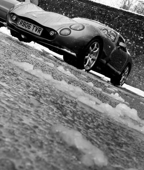 RB TVR's car
