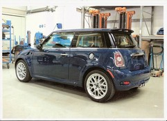 Rolls-Royce trimmed Mini 'spy shots'...