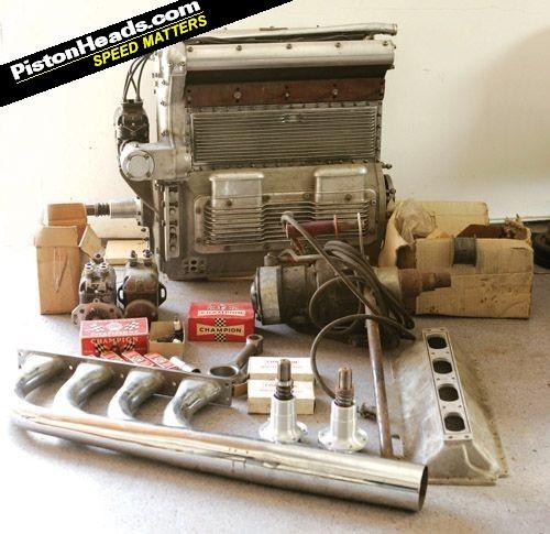 Offenhauser 1939 Indycar engine