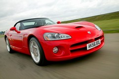 No Ferrari motor for the Viper