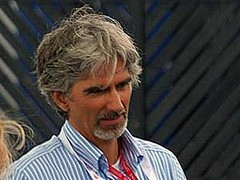 BRDC boss Damon Hill at 2008 British GP