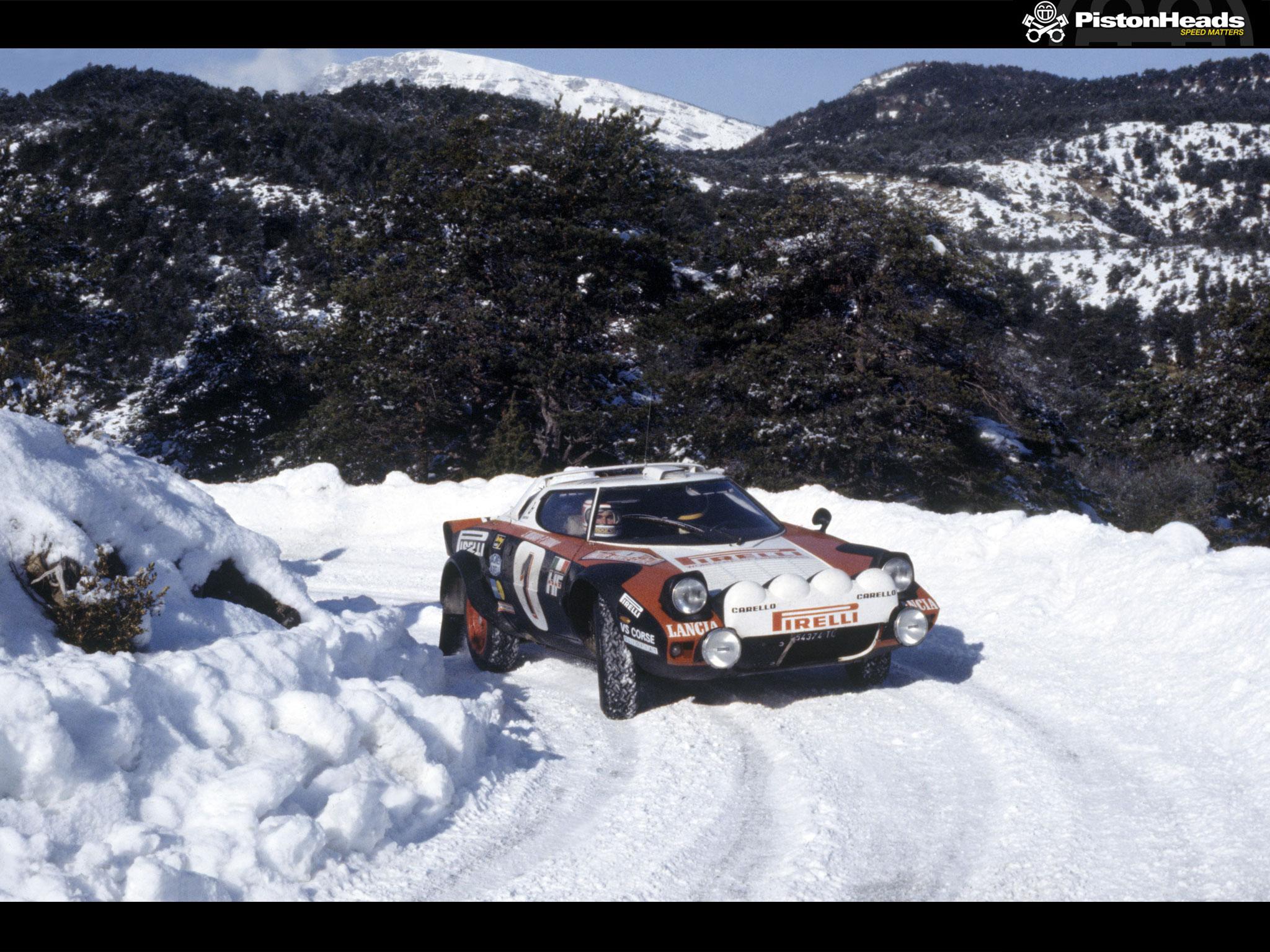 1970s Italian rally star