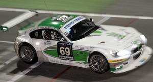 Z4M racing at the Dubai 24hrs last January