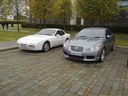 It looks so small next to the XFR