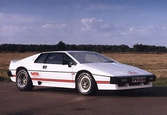 Becker helped develop cars like Esprit...