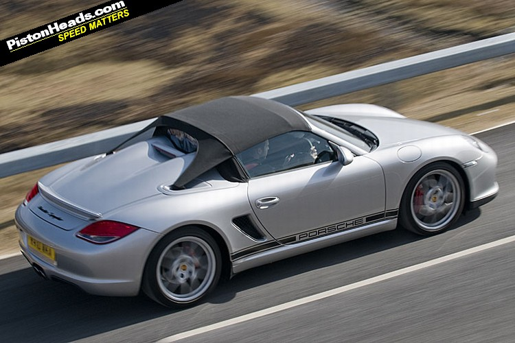 Driven Porsche Boxster Spyder Pistonheads
