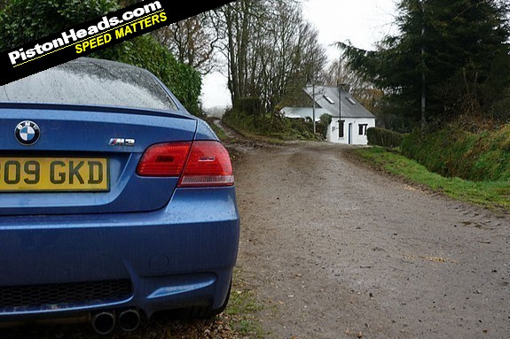 A few of Brittany's roads aren't ideal for an M3. Not many, though