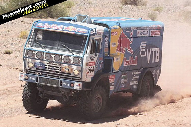 A Real Dakar Truck
