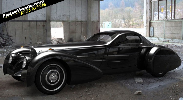 Re Bugnotti Coupe Weird Name Magical Car Page 1