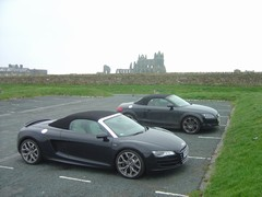 R8 upstaging Count Dracula's wheels