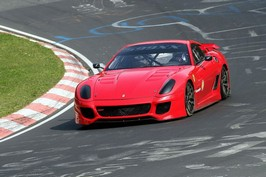 A new 'Ring record for Ferrari
