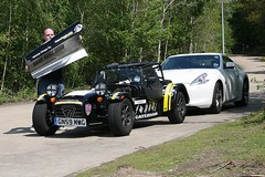 Never pick up a Caterham by its bonnet...