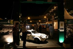 Road car into racer, paddock action on Friday night