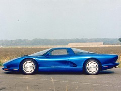 'Vette flirted with mid engine in 1990